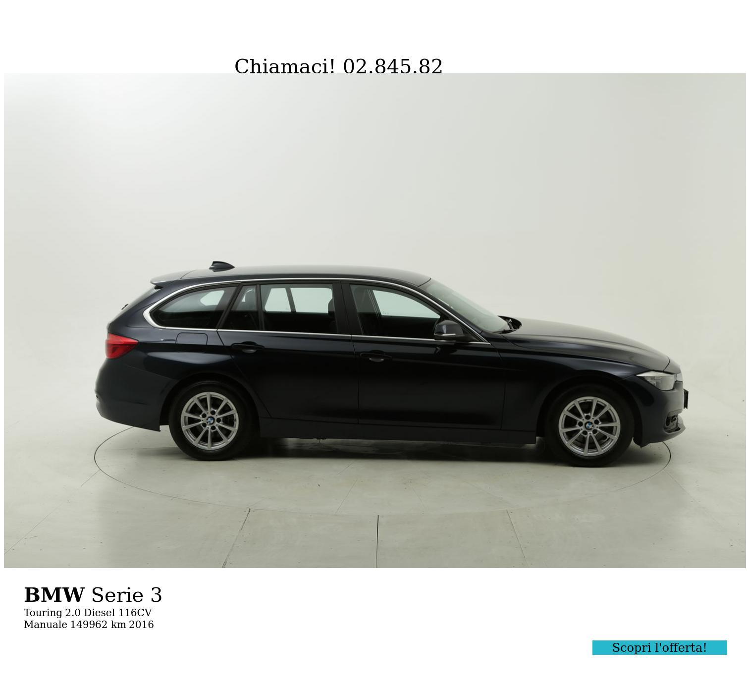 BMW Serie 3 usata del 2016 con 150.089 km | brumbrum