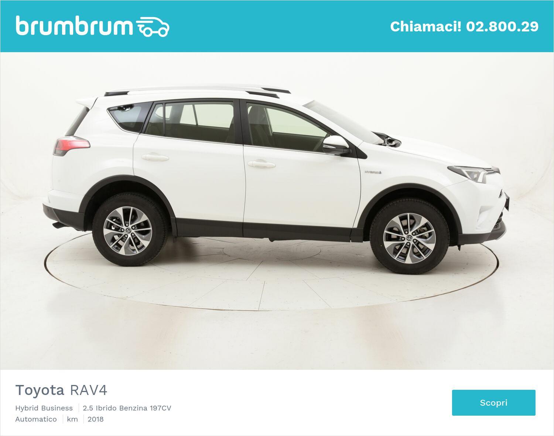 Toyota RAV4 Hybrid Business usata del 2018 con 34.387 km | brumbrum