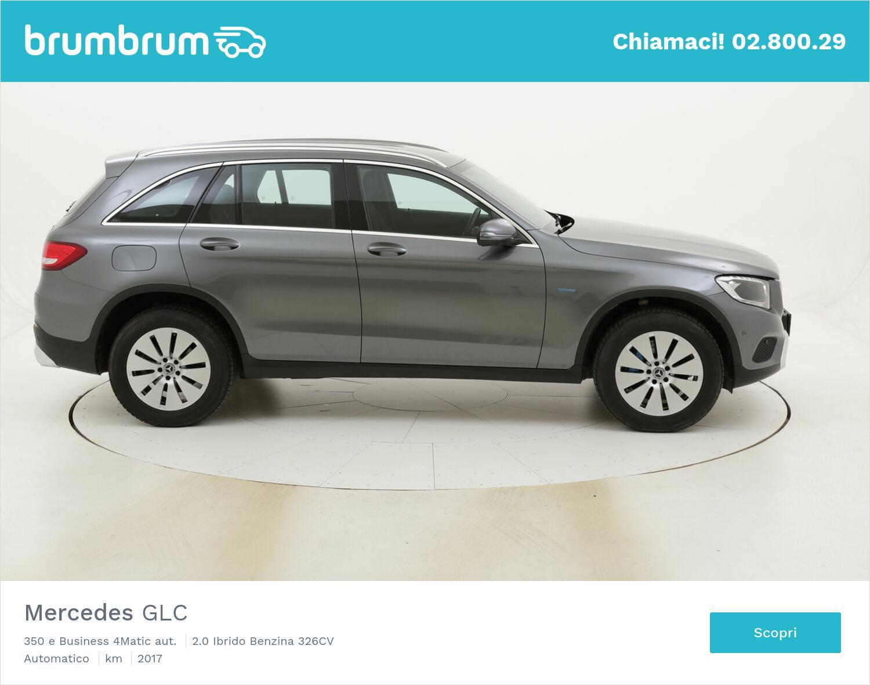 Mercedes GLC 350 e Business 4Matic aut. usata del 2017 con 55.379 km | brumbrum