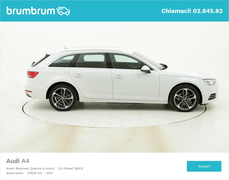 Audi A4 usata del 2017 con 57.684 km   brumbrum