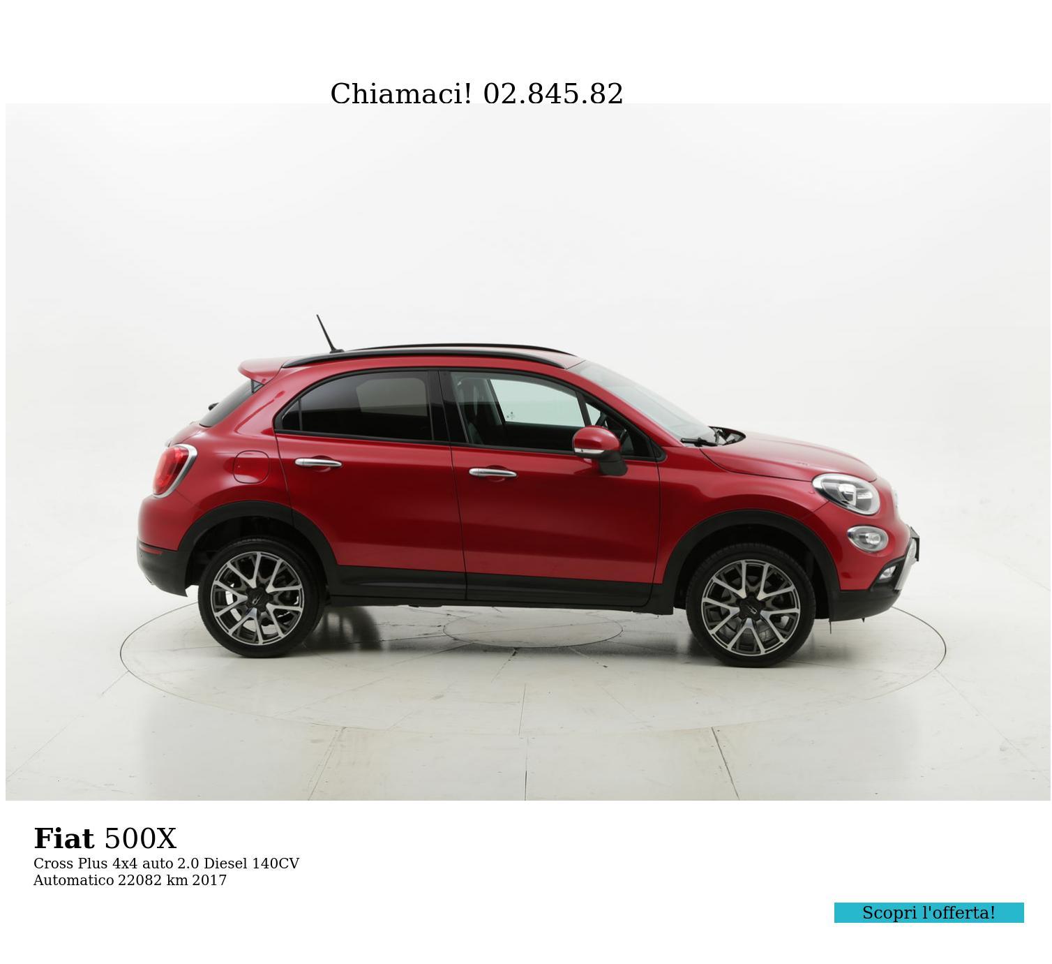 Fiat 500X usata del 2017 con 22.181 km | brumbrum