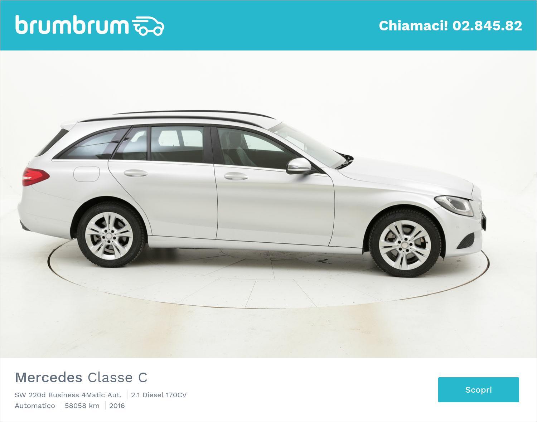 Mercedes Classe C usata del 2016 con 58.268 km | brumbrum