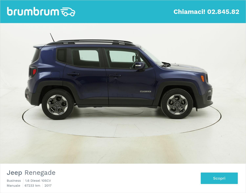 Jeep Renegade Business usata del 2017 con 67.245 km | brumbrum