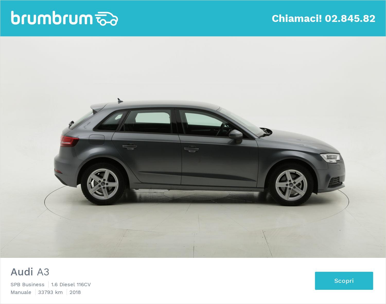 Audi A3 usata del 2018 con 33.835 km | brumbrum