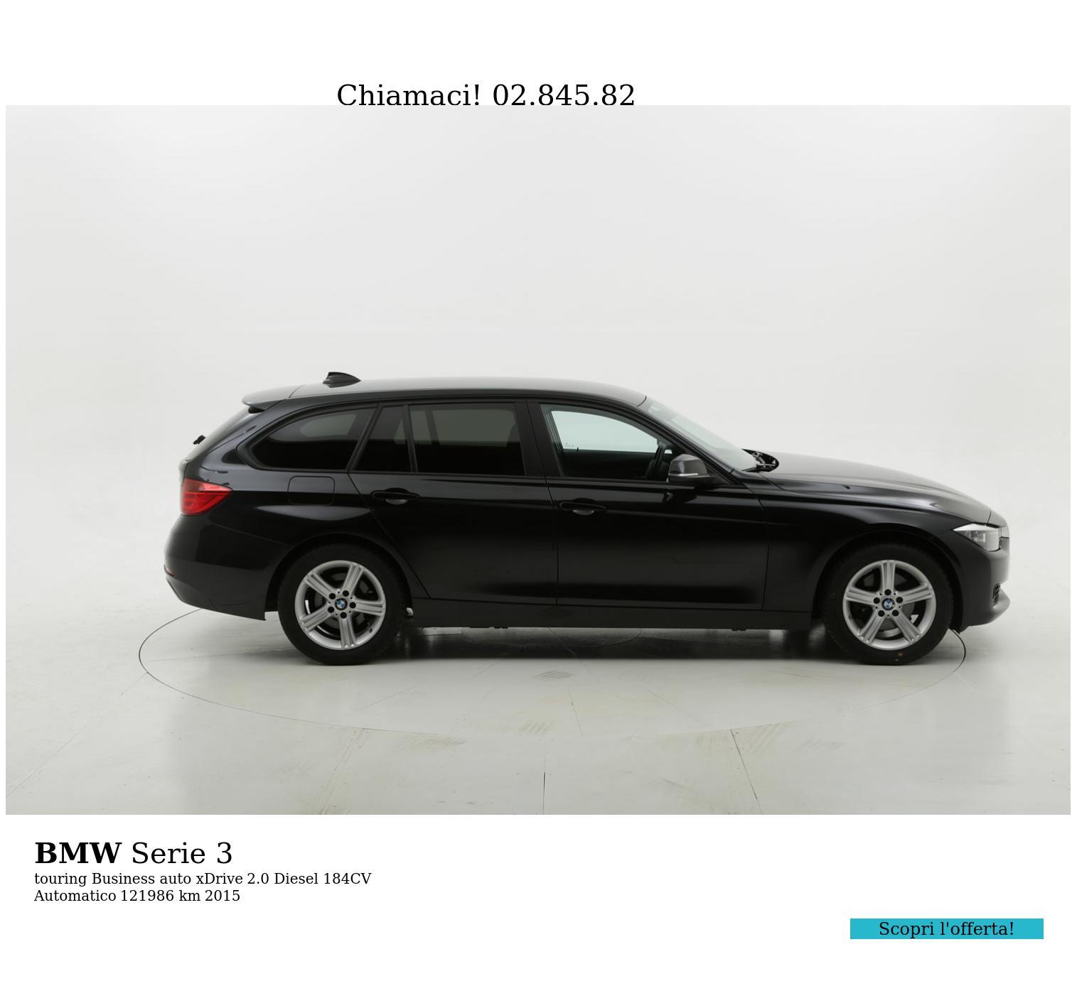 BMW Serie 3 usata del 2015 con 122.031 km   brumbrum