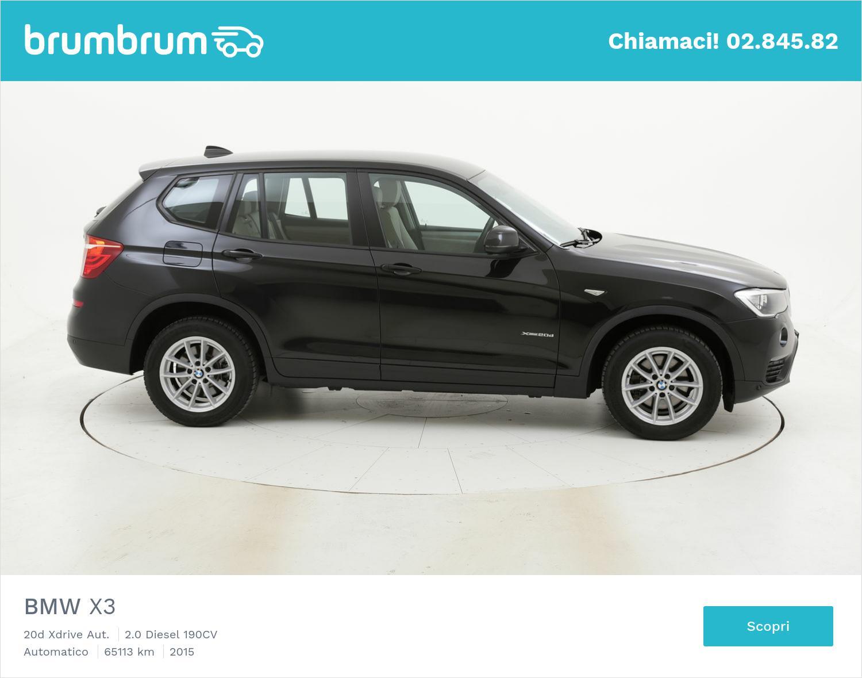 BMW X3 usata del 2015 con 65.655 km   brumbrum