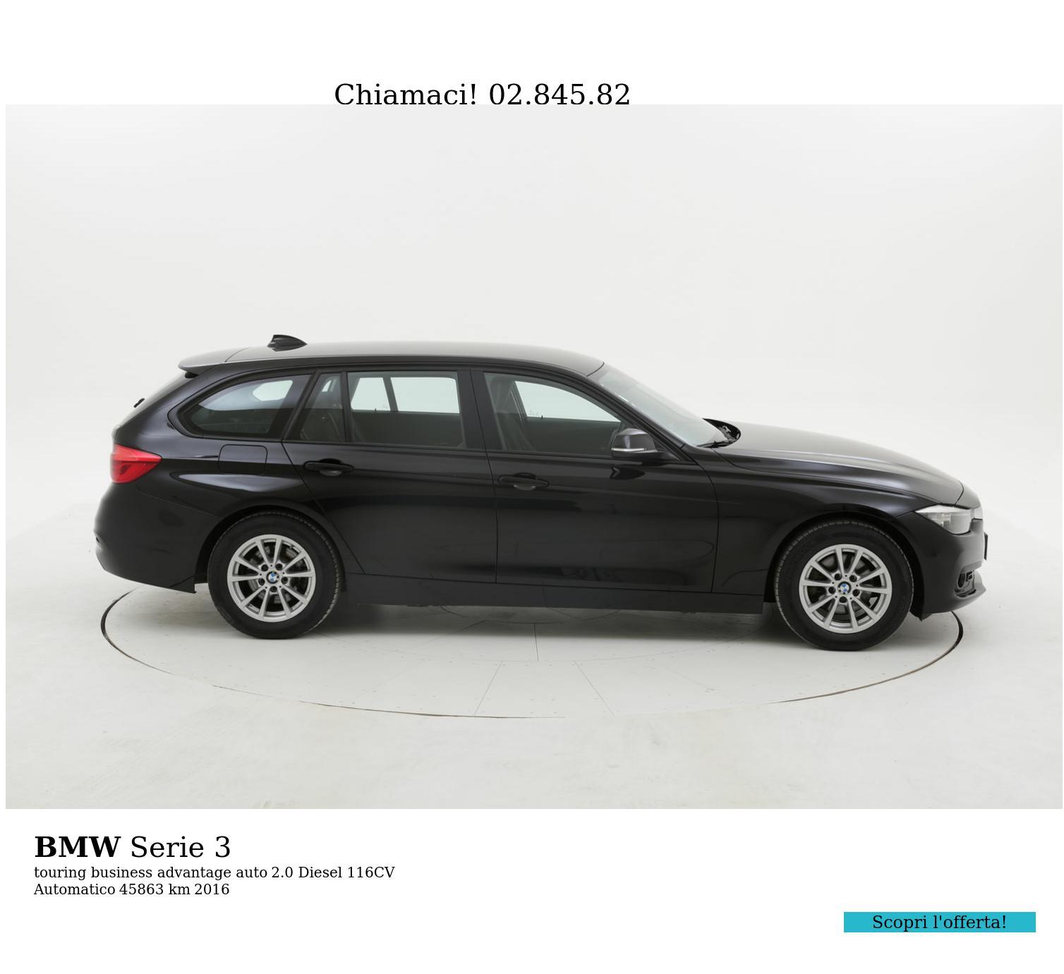 BMW Serie 3 usata del 2016 con 46.351 km | brumbrum