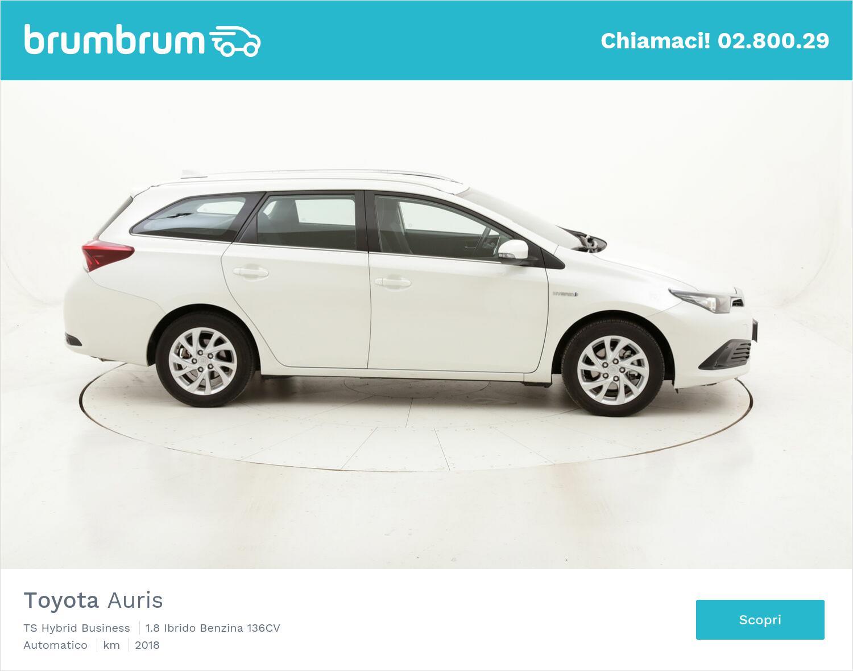 Toyota Auris TS Hybrid Business usata del 2018 con 33.948 km   brumbrum