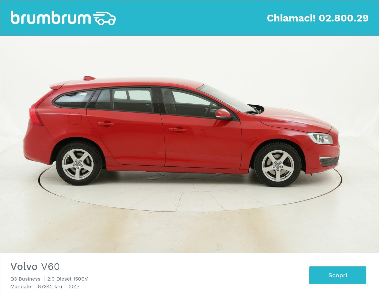 Volvo V60 usata del 2017 con 87.378 km | brumbrum