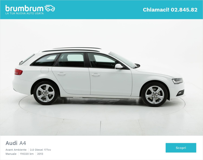 Audi A4 usata del 2013 con 114.395 km | brumbrum