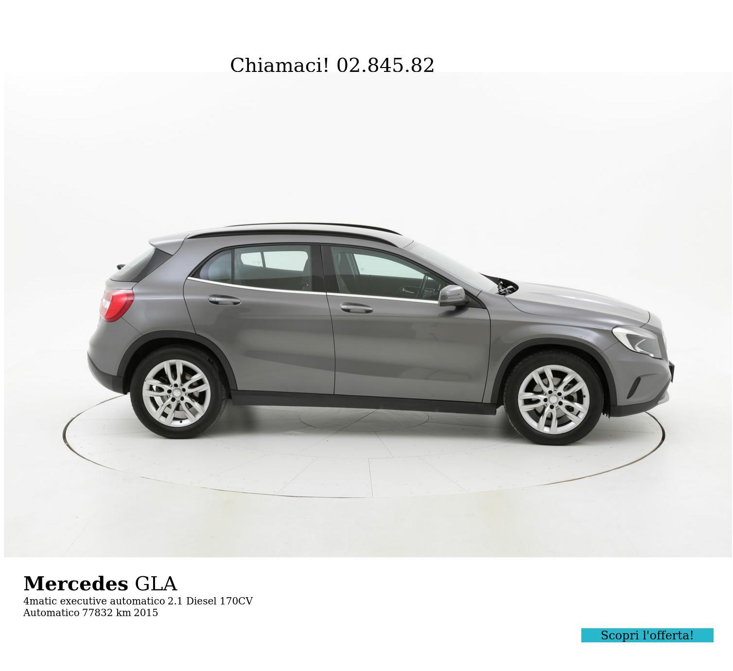 Mercedes GLA usata del 2015 con 77.991 km | brumbrum