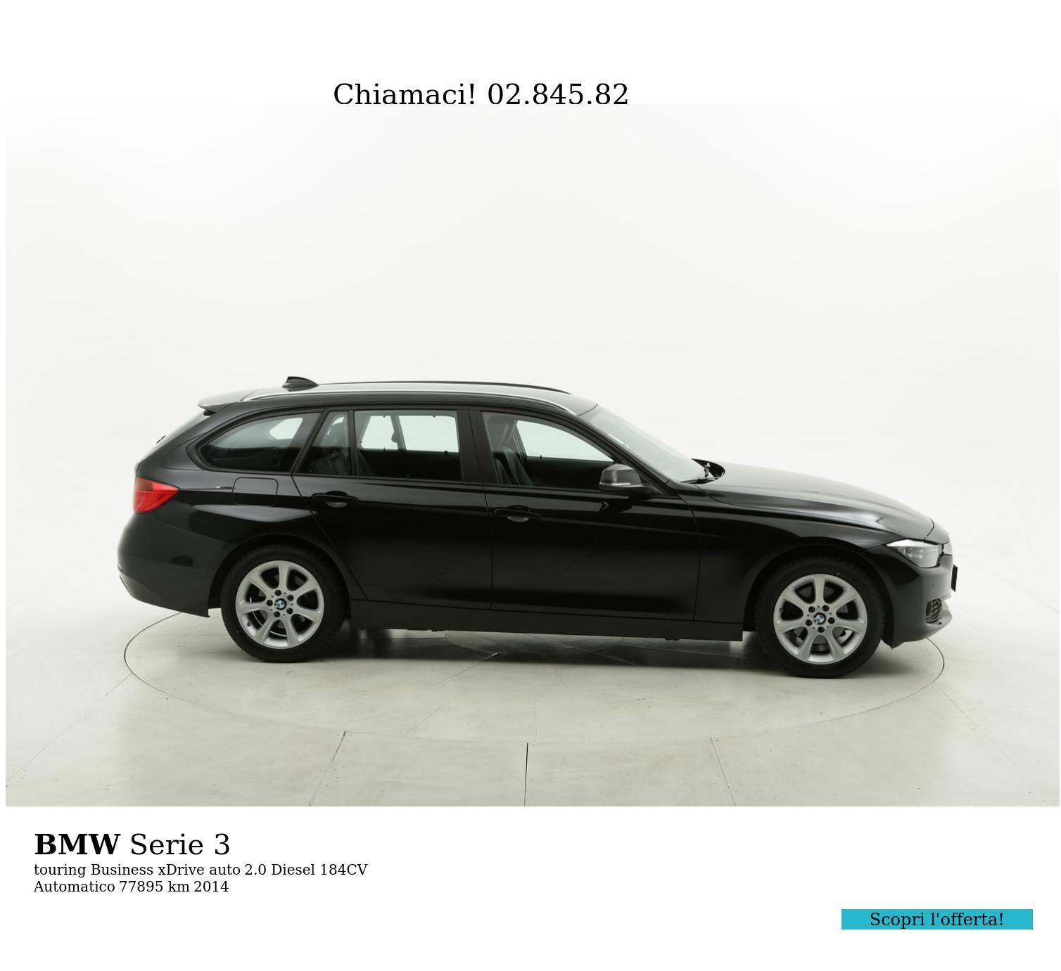 BMW Serie 3 usata del 2014 con 78.102 km | brumbrum