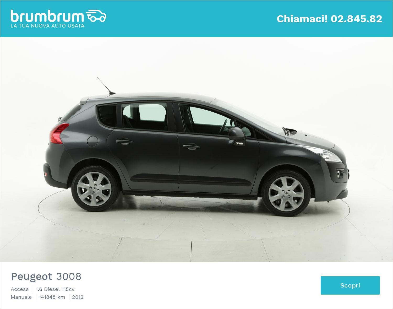Peugeot 3008 usata del 2013 con 141.894 km   brumbrum
