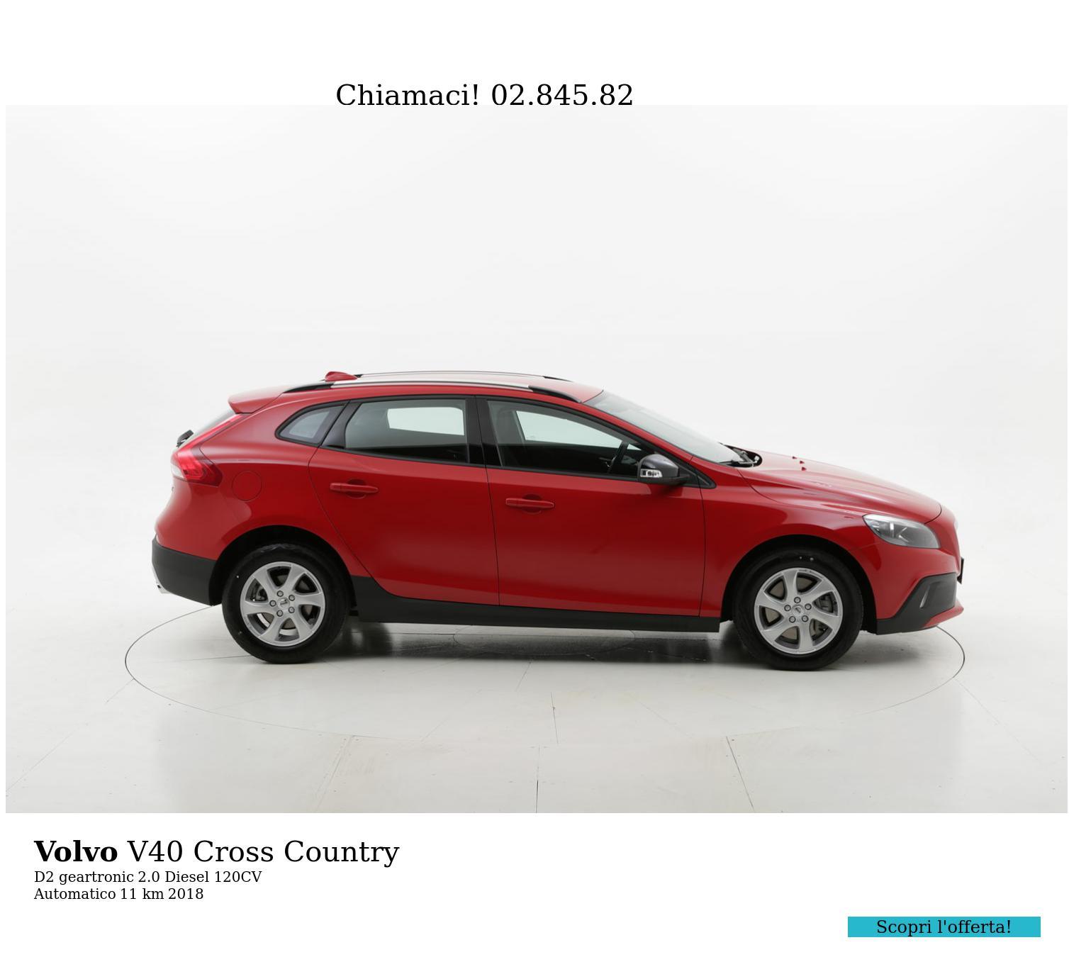 Volvo V40 Cross Country usata del 2018 con 62 km | brumbrum