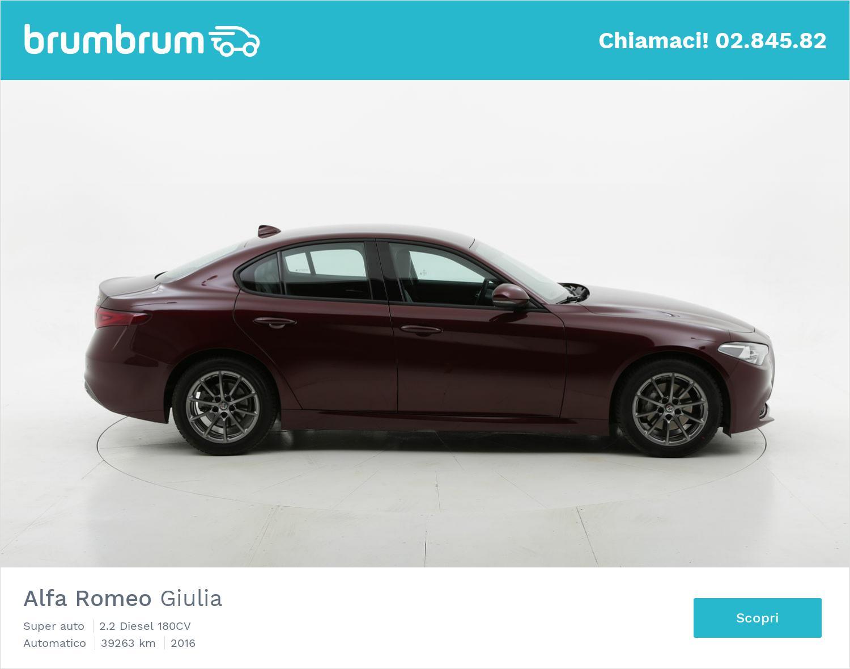 Alfa Romeo Giulia usata del 2016 con 39.433 km | brumbrum
