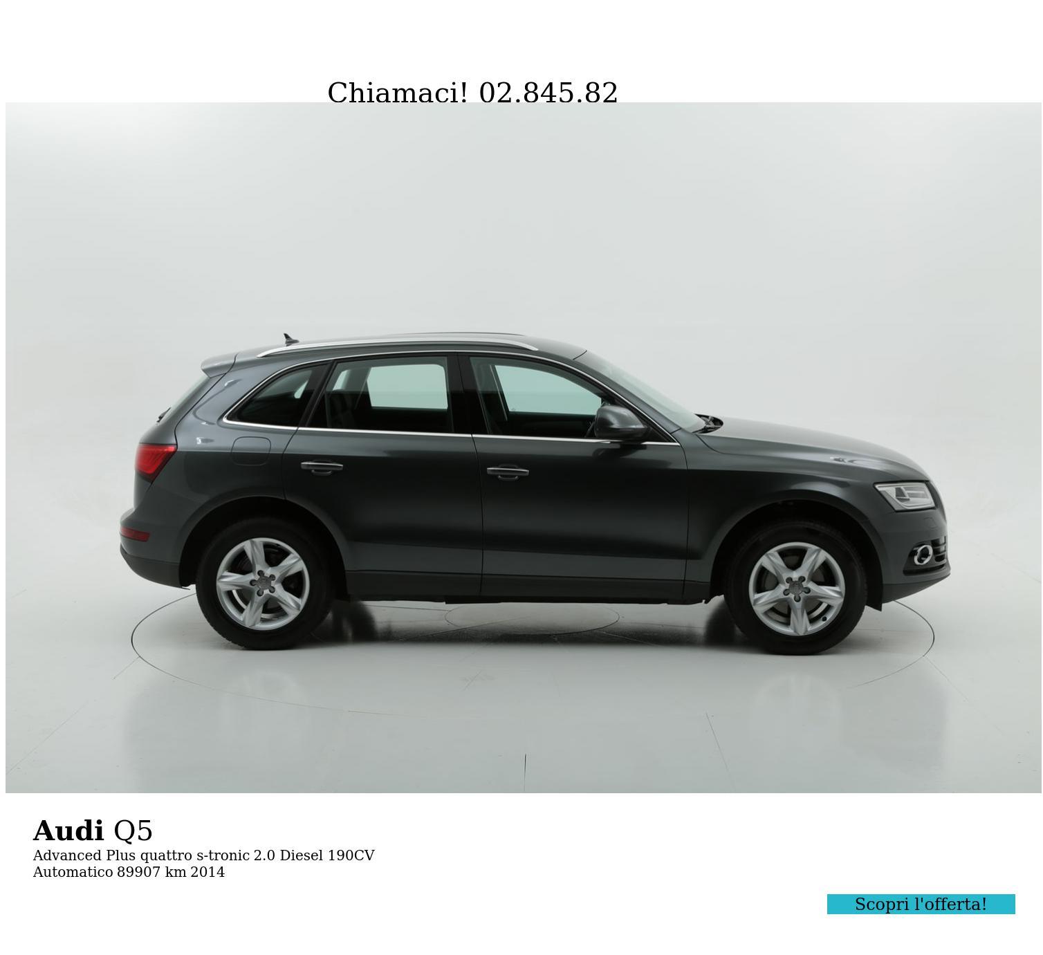 Audi Q5 usata del 2014 con 89.945 km | brumbrum