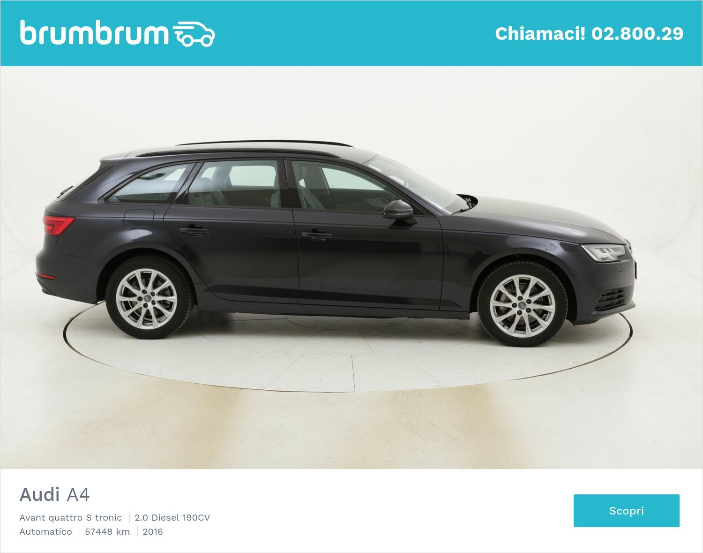 Audi A4 Avant quattro S tronic usata del 2016 con 57.475 km | brumbrum