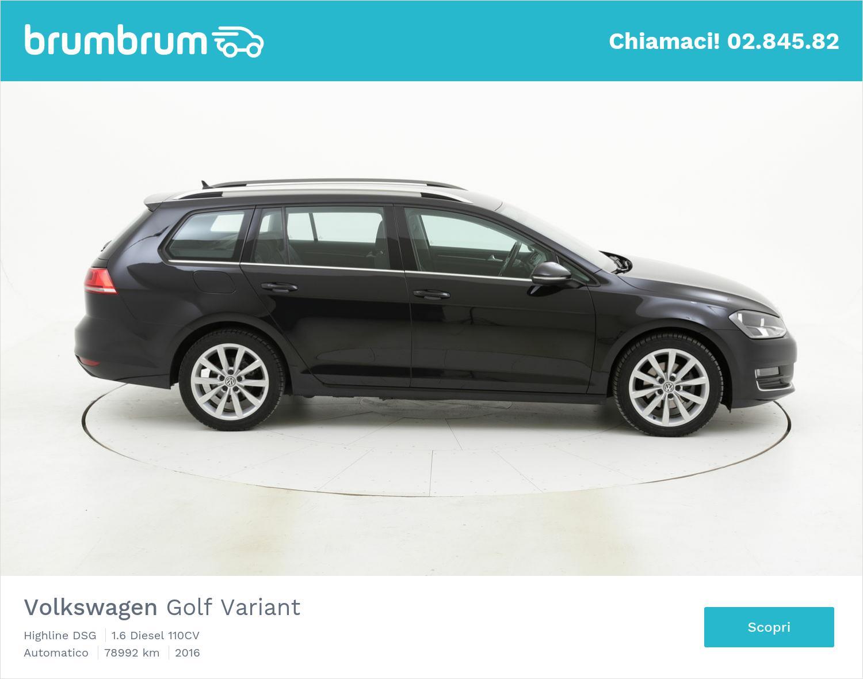 Volkswagen Golf Variant usata del 2016 con 79.552 km | brumbrum