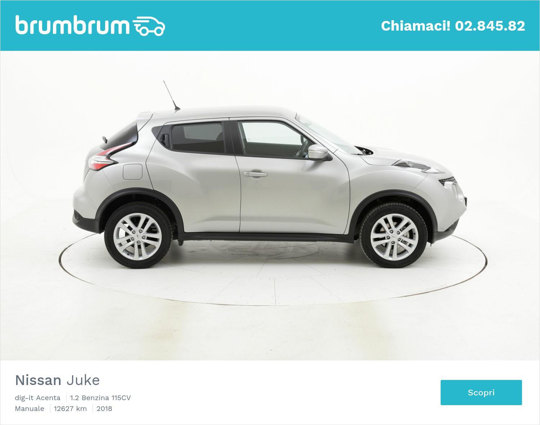 Nissan Juke usata del 2018 con 12.796 km | brumbrum