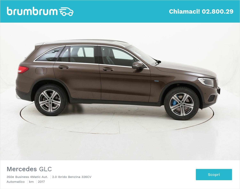 Mercedes GLC 350e Business 4Matic Aut. usata del 2017 con 87.250 km | brumbrum