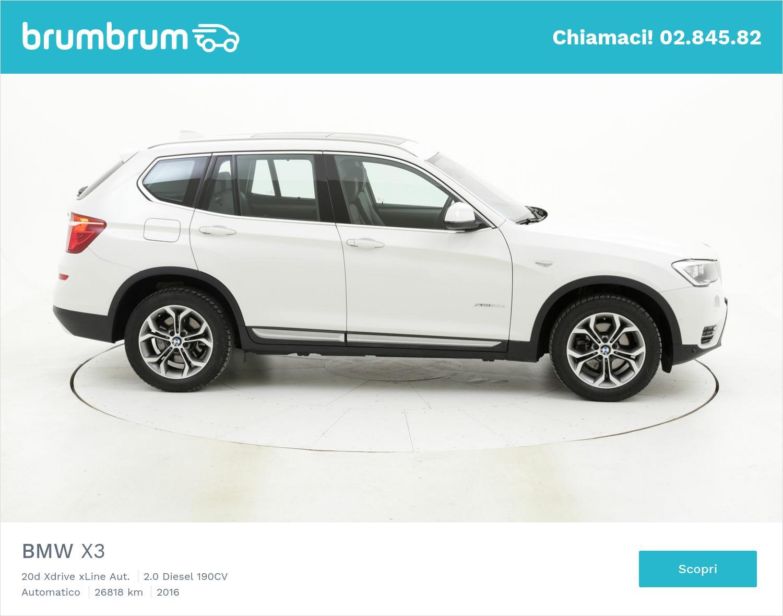 BMW X3 usata del 2016 con 27.033 km | brumbrum