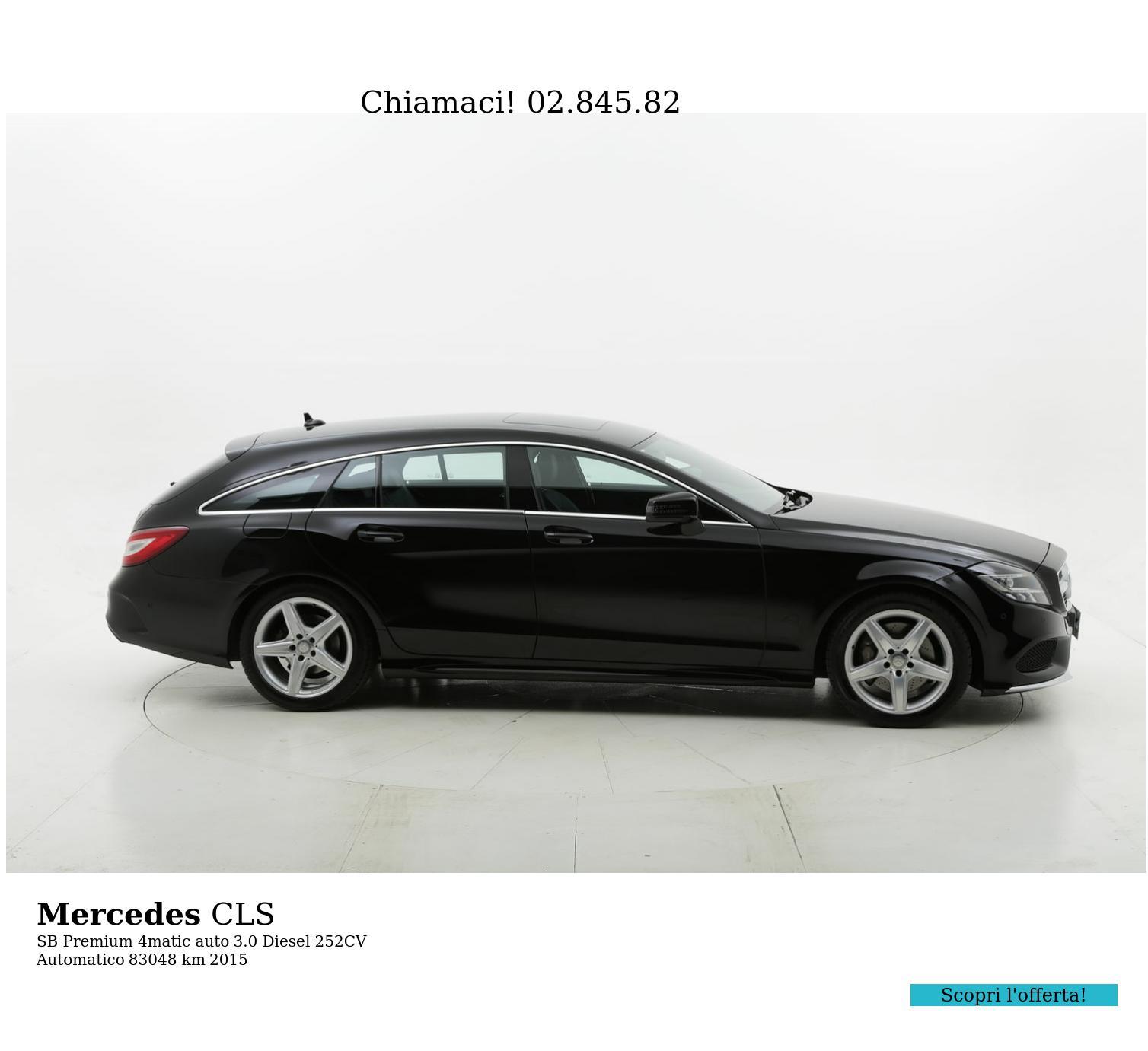 Mercedes CLS usata del 2015 con 83.437 km | brumbrum