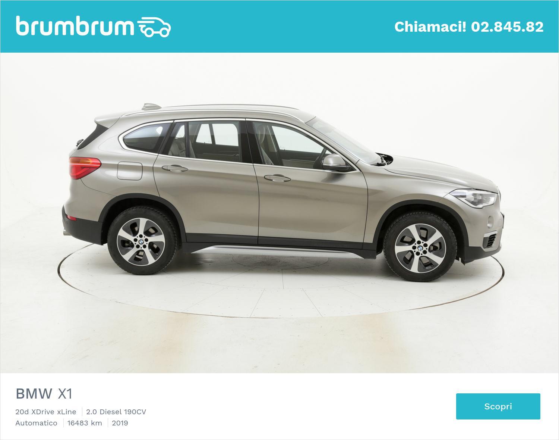 BMW X1 usata del 2019 con 16.777 km | brumbrum