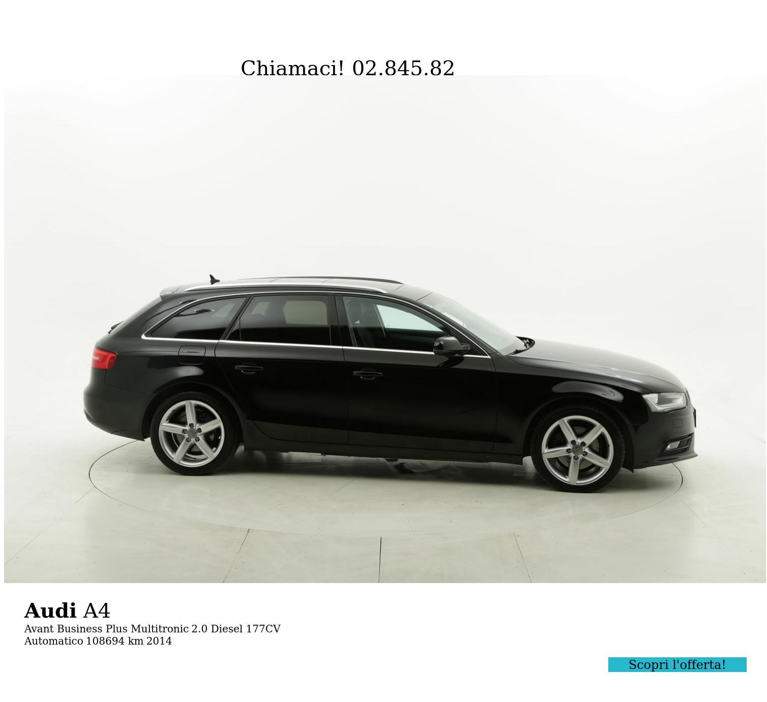 Audi A4 usata del 2014 con 108.794 km   brumbrum