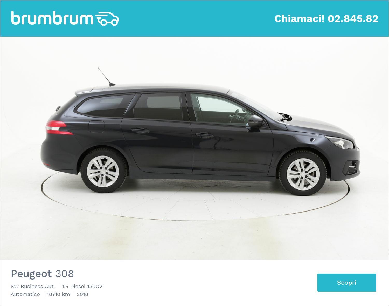 Peugeot 308 usata del 2018 con 18.946 km   brumbrum