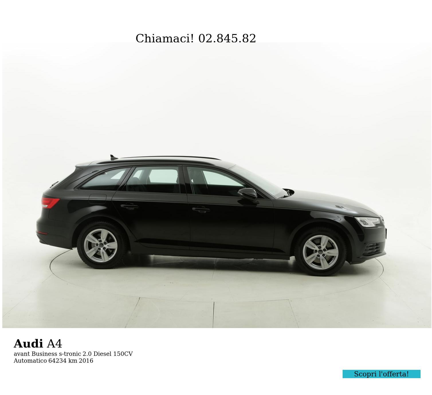 Audi A4 usata del 2016 con 64.396 km | brumbrum