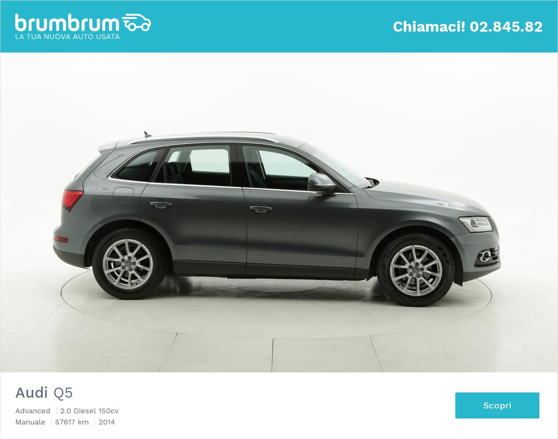 Audi Q5 usata del 2014 con 57.740 km | brumbrum