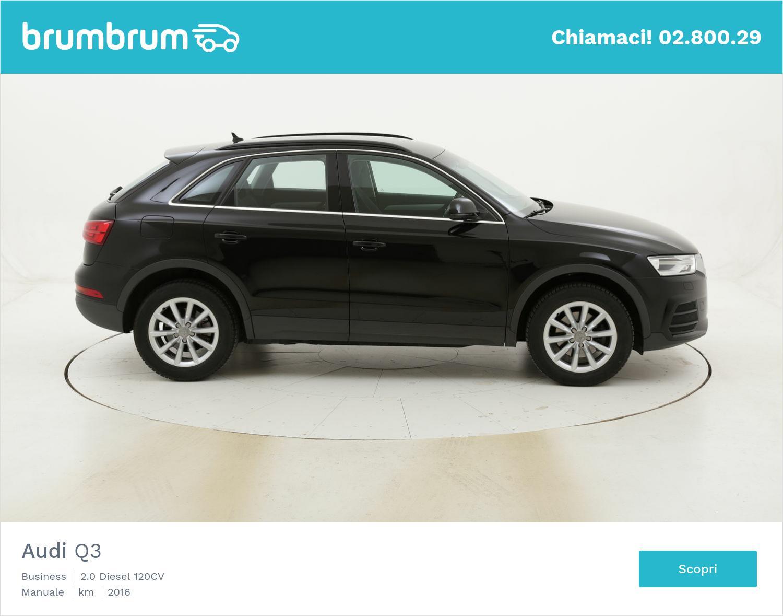 Audi Q3 Business usata del 2016 con 56.738 km   brumbrum