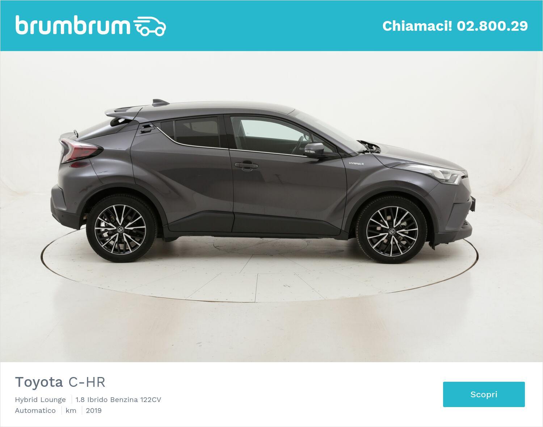 Toyota C-HR Hybrid Lounge usata del 2019 con 29.711 km | brumbrum