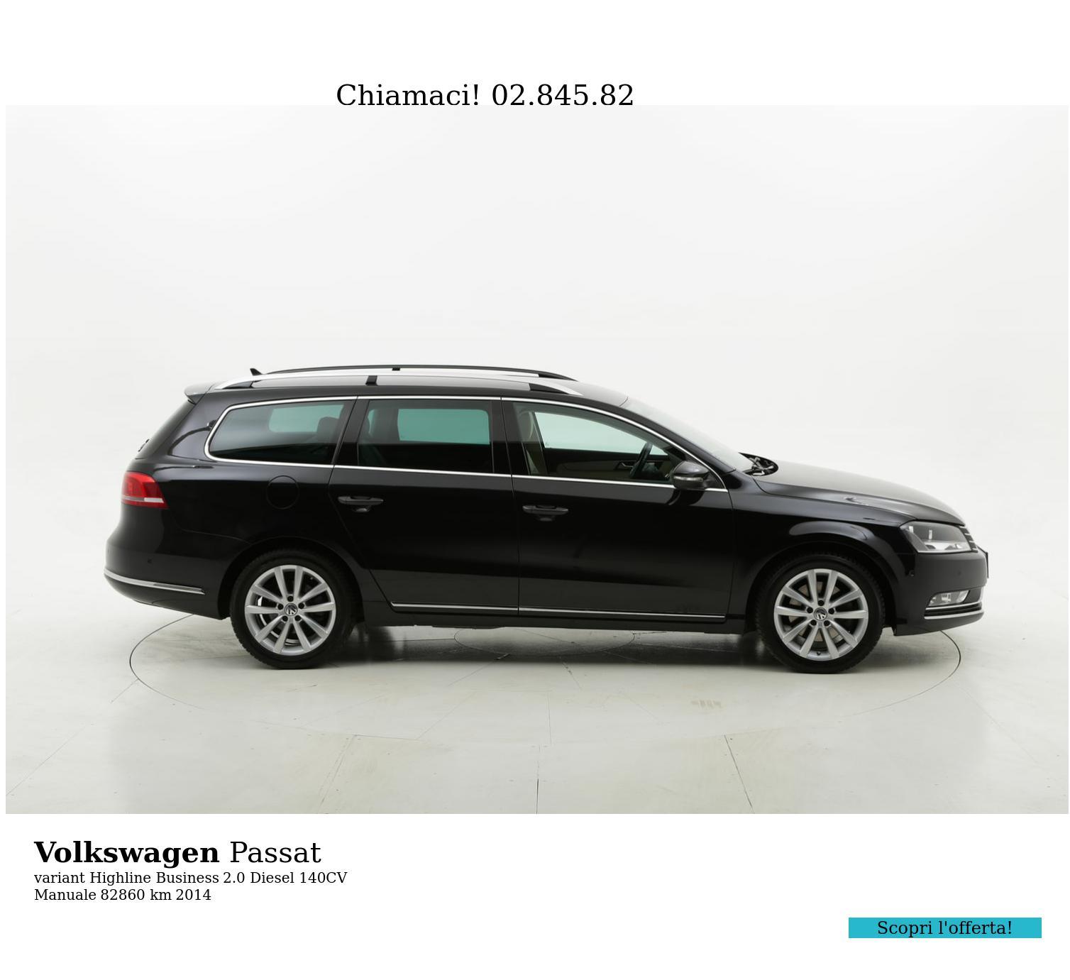 Volkswagen Passat usata del 2014 con 83.436 km   brumbrum