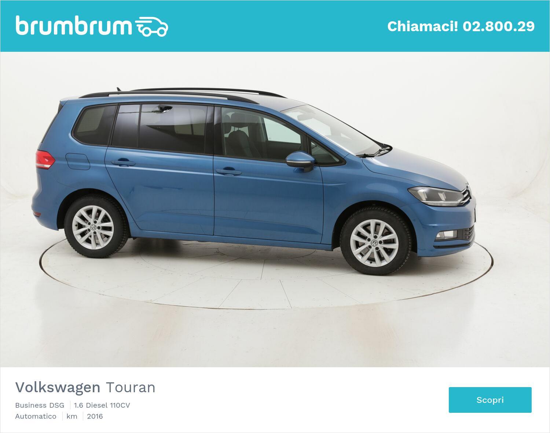 Volkswagen Touran Business DSG usata del 2016 con 136.205 km   brumbrum