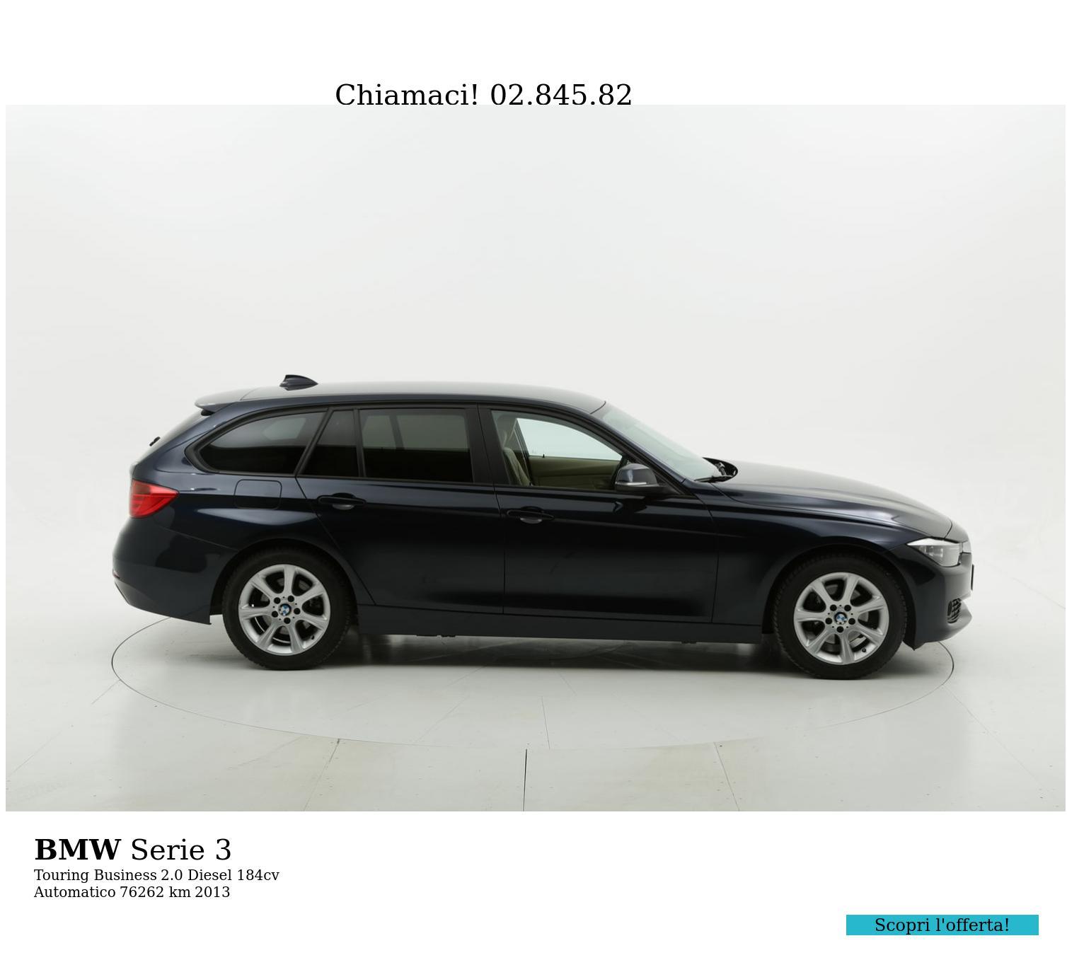 BMW Serie 3 usata del 2013 con 76.721 km | brumbrum