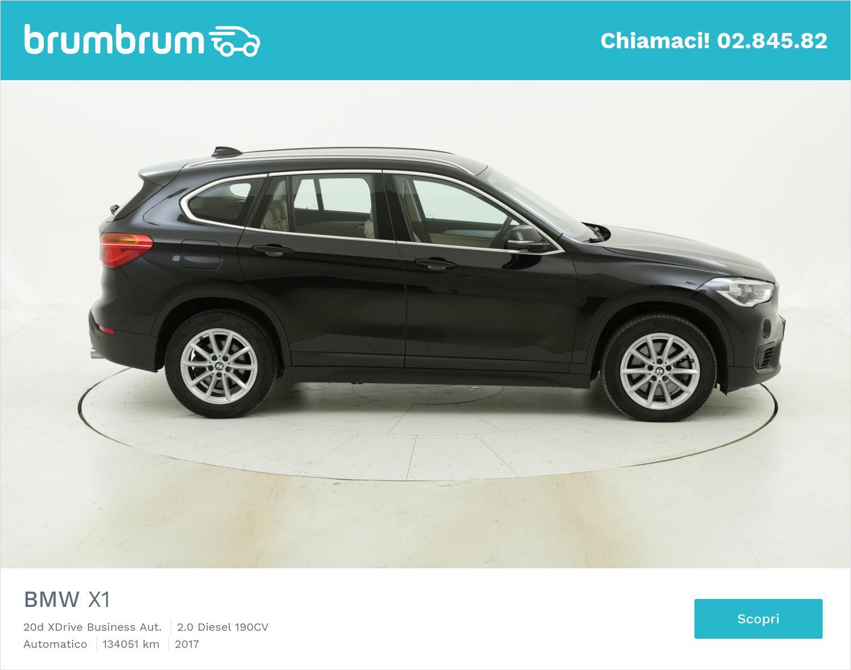 BMW X1 usata del 2017 con 134.129 km   brumbrum