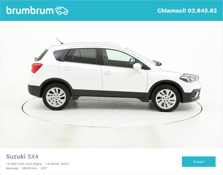 Suzuki SX4 usata del 2017 con 58.053 km | brumbrum