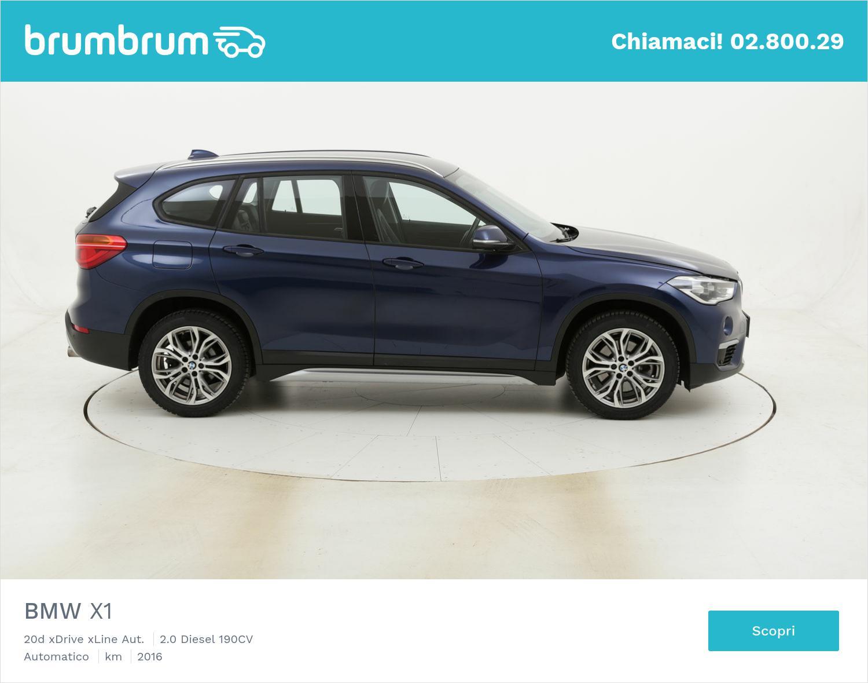 BMW X1 20d xDrive xLine Aut. usata del 2016 con 86.154 km | brumbrum
