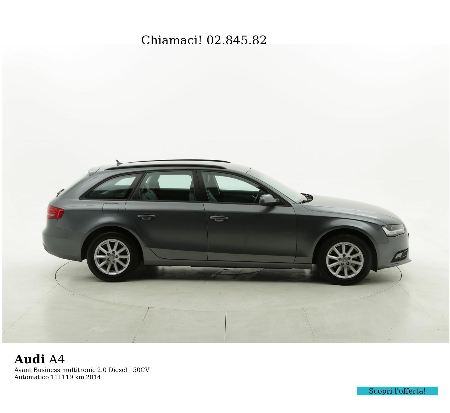 Audi A4 usata del 2014 con 111.531 km | brumbrum