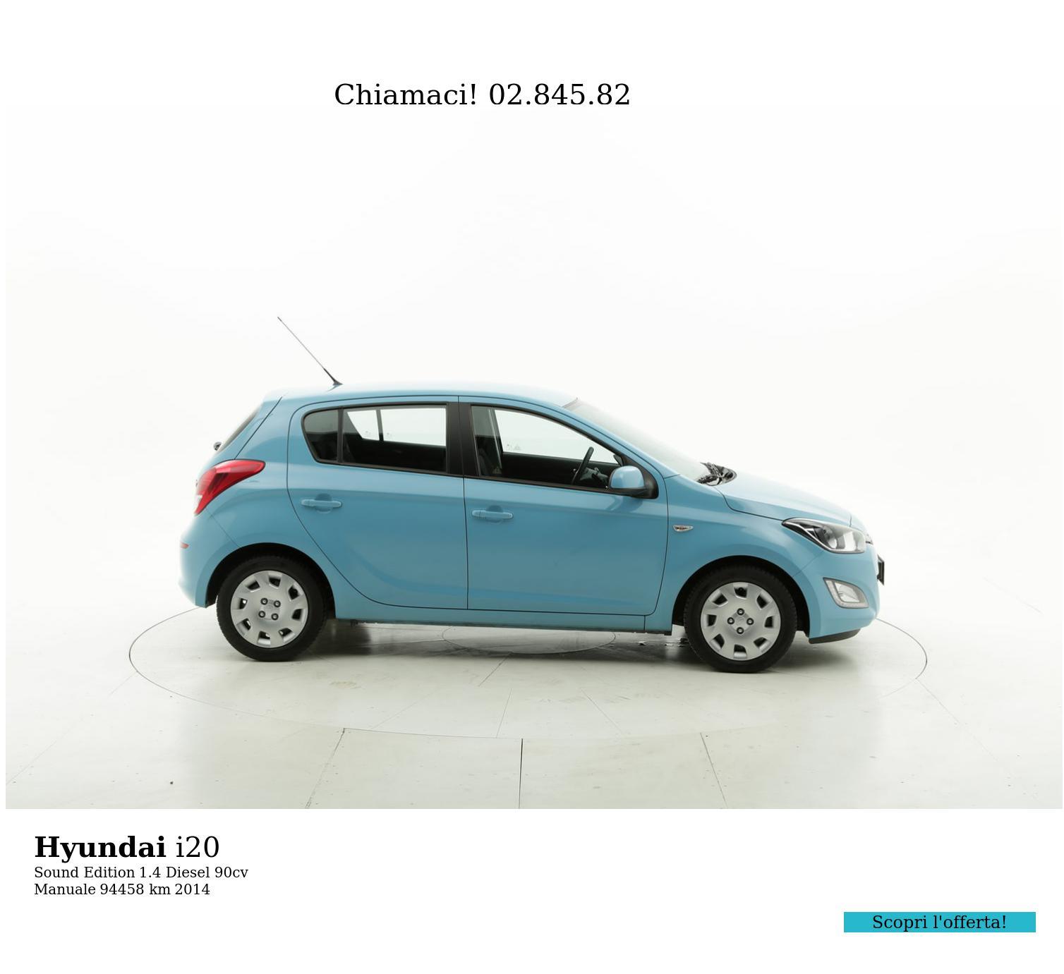 Hyundai I20 usata del 2014 con 94.904 km   brumbrum