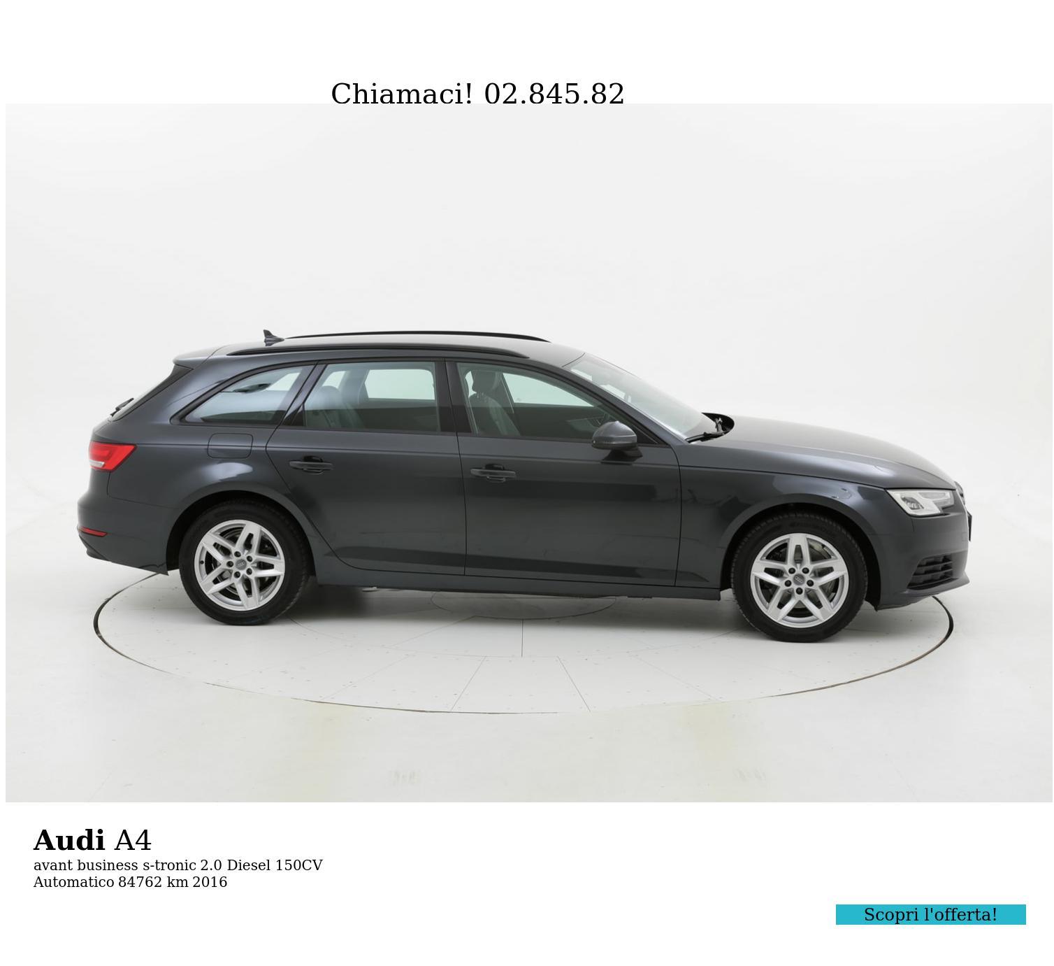 Audi A4 usata del 2016 con 84.853 km | brumbrum
