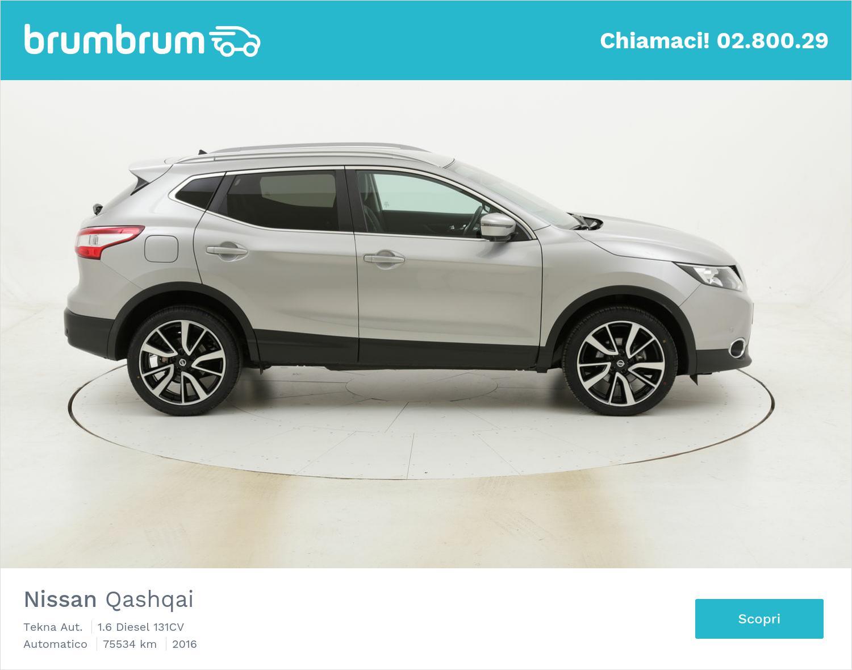 Nissan Qashqai Tekna Aut. usata del 2016 con 75.807 km | brumbrum