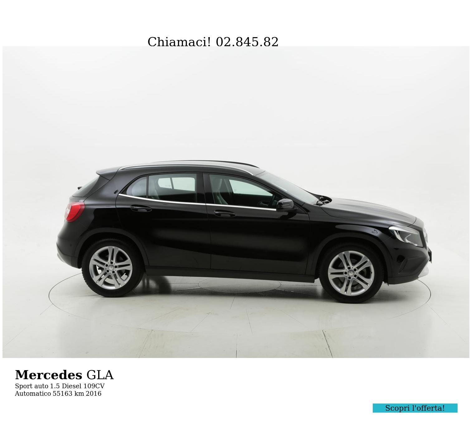 Mercedes GLA usata del 2016 con 55.737 km | brumbrum