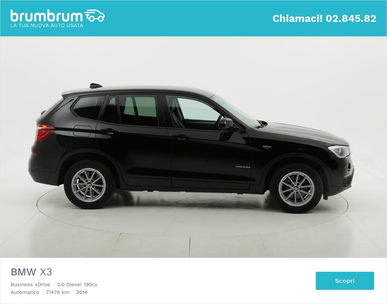 BMW X3 usata del 2014 con 71.559 km | brumbrum
