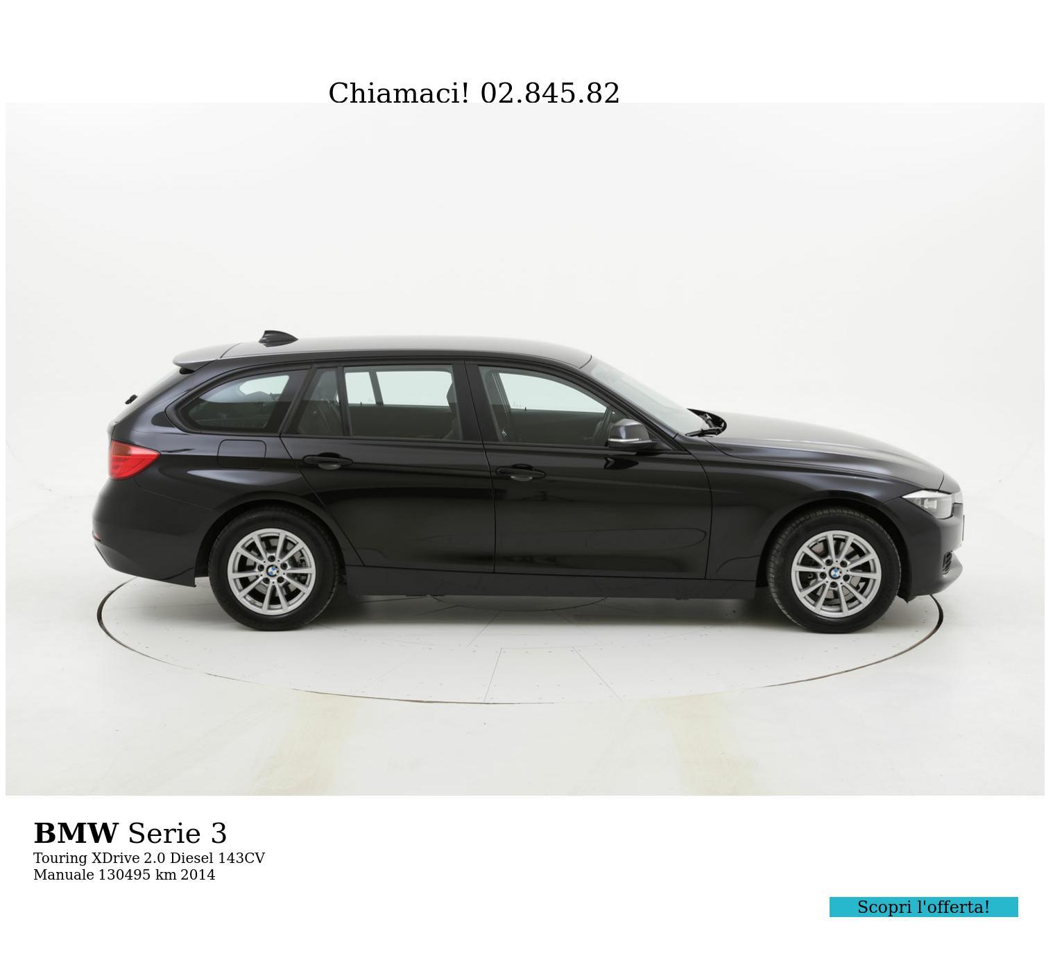 BMW Serie 3 usata del 2014 con 131.113 km | brumbrum