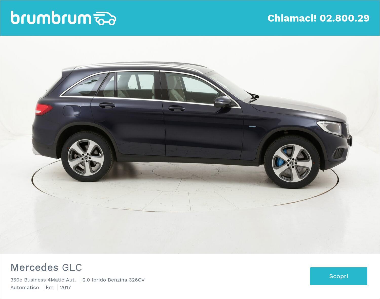 Mercedes GLC 350e Business 4Matic Aut. usata del 2017 con 57.837 km | brumbrum