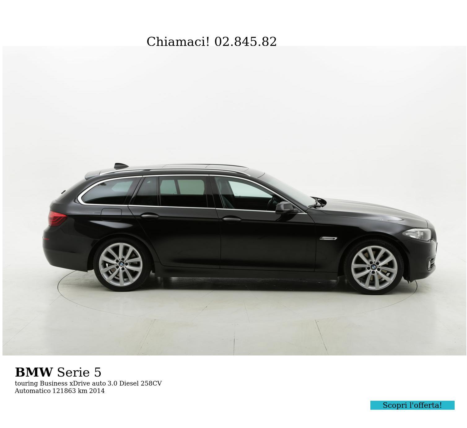 BMW Serie 5 usata del 2014 con 122.257 km | brumbrum