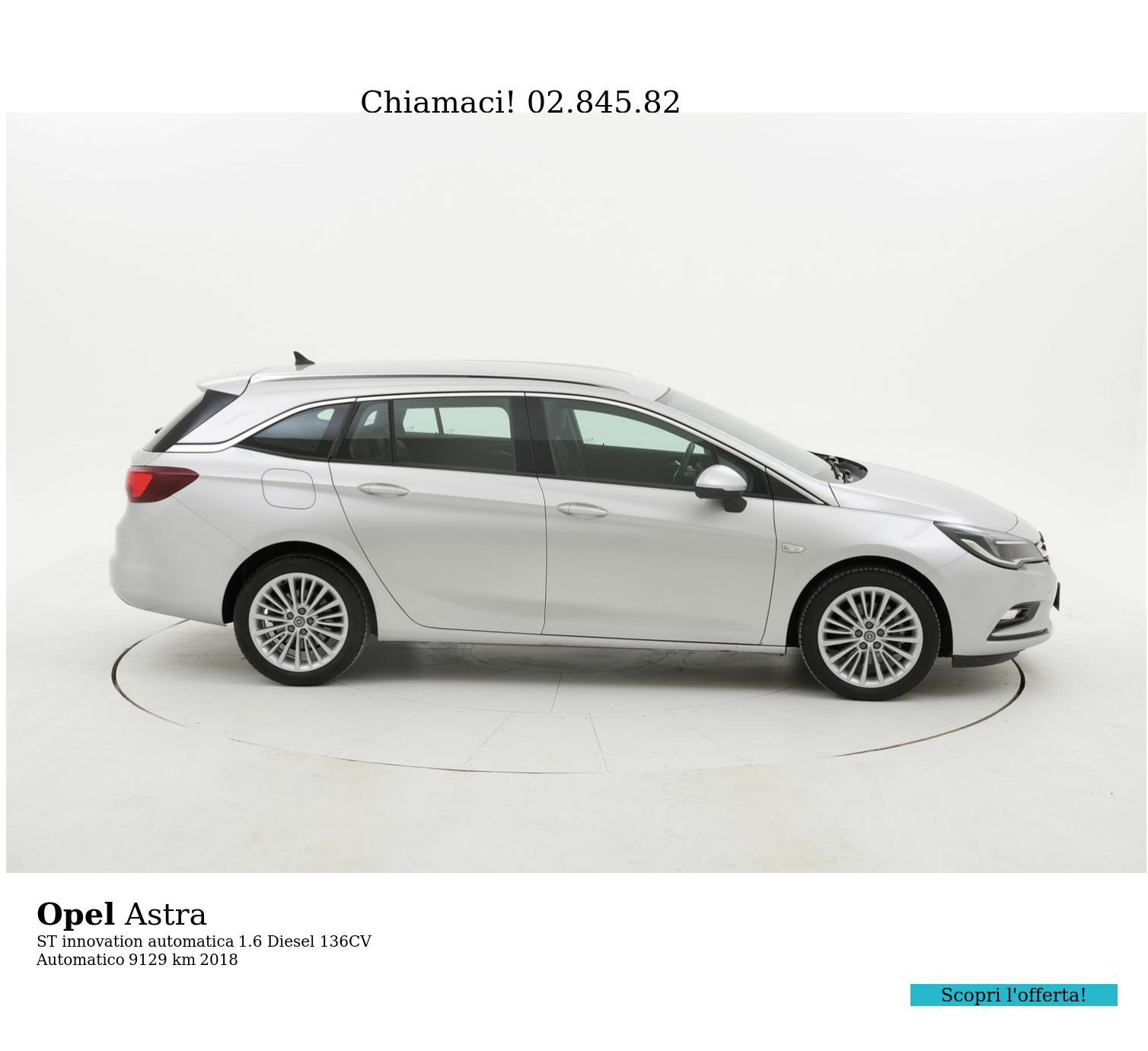 Opel Astra usata del 2018 con 9.159 km   brumbrum
