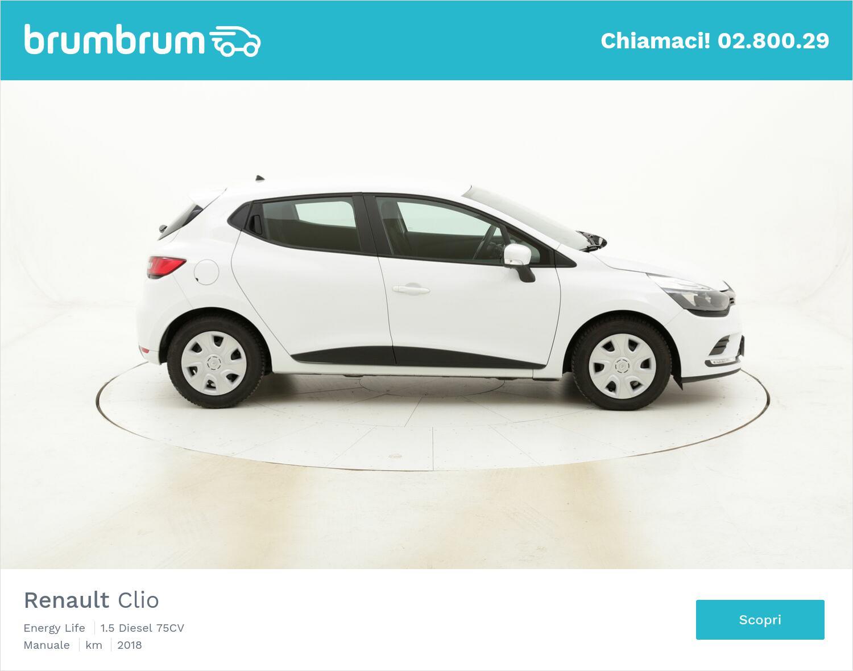 Renault Clio Energy Life usata del 2018 con 78.626 km   brumbrum